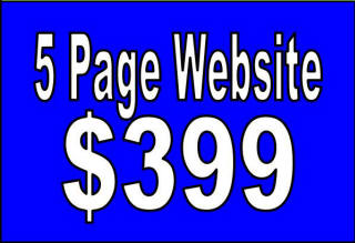 5 Page Website $399