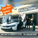 CAR WINDOW TINTING MIAMI & BROWARD (FREE MOBILE SERVICE)